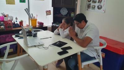 primaia. desde casa. dia del papa virtual10