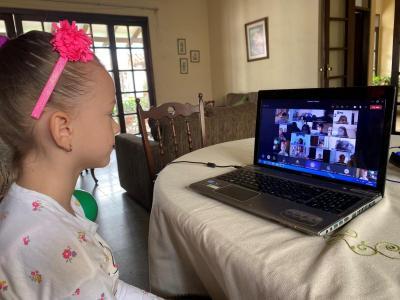 primaia. desde casa. dia del papa virtual17